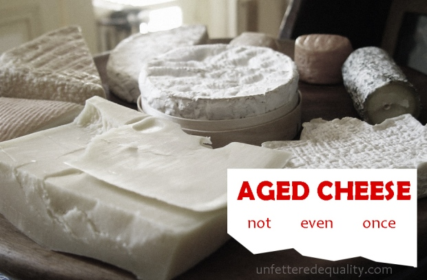 Legislating cheese isn't normal.  ...but on FDA it is.