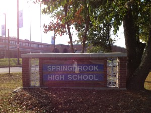 Springbrook High Sign